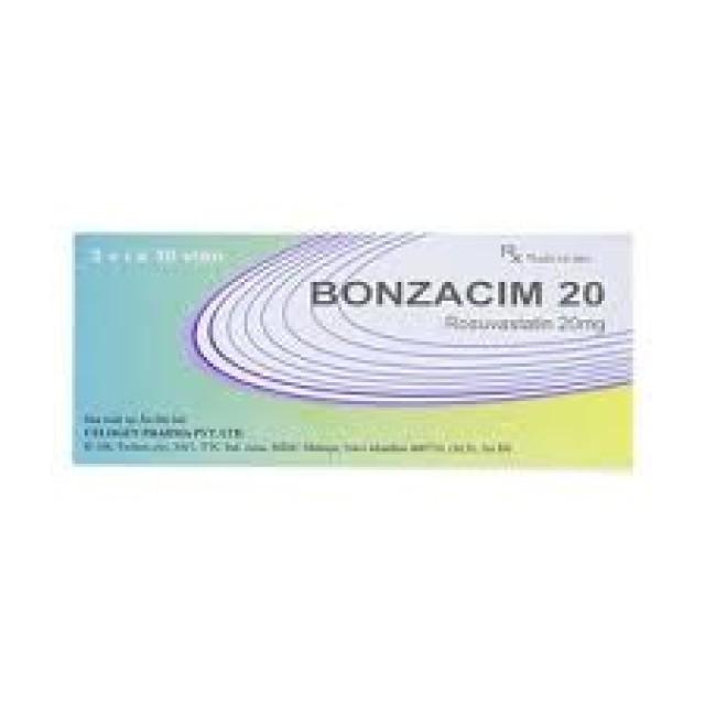 Bonzacim 20 Mg H/30 v