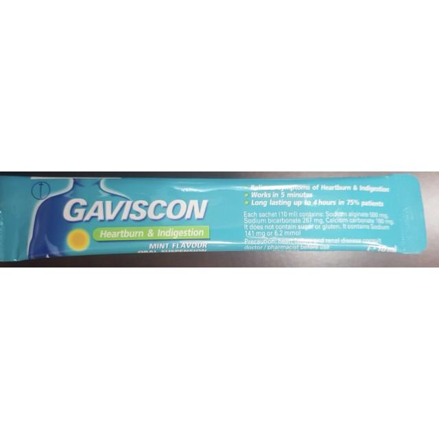 Gaviscon H/24 gói chống trào ngược dạ dày – thực quản