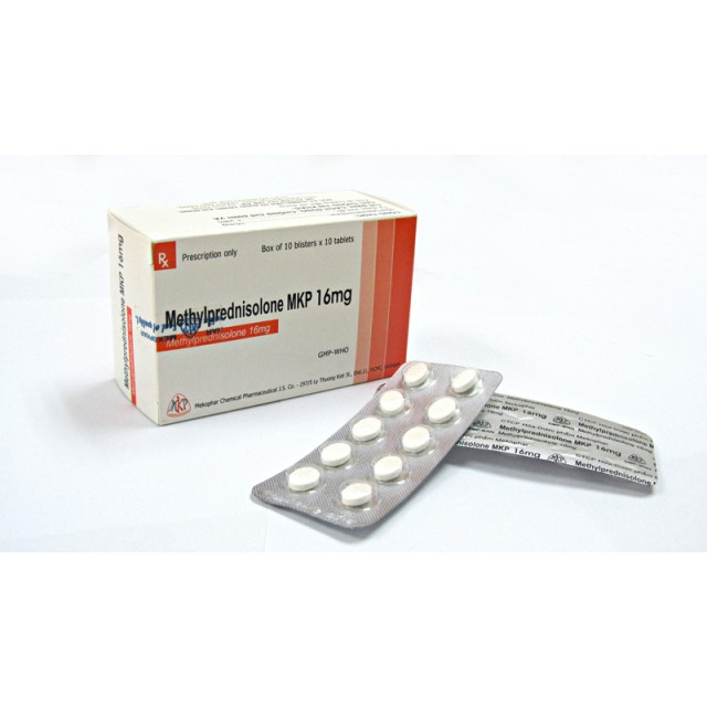 Methylprednisolone MKP 16mg H/100 v