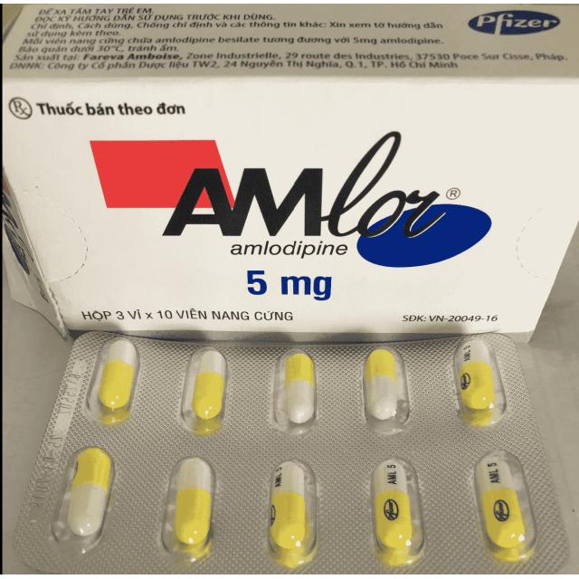 Amlor 5 mg