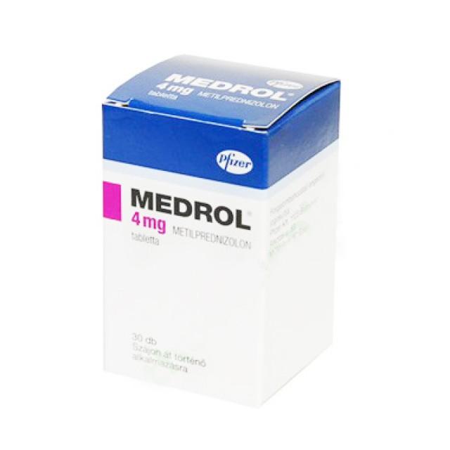 MEDROL 4MG H/30v
