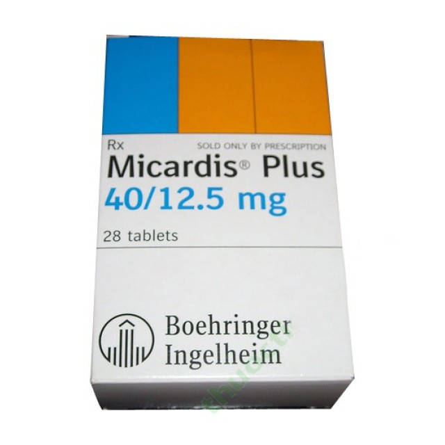 MICARDIS PLUS 40/12.5MG