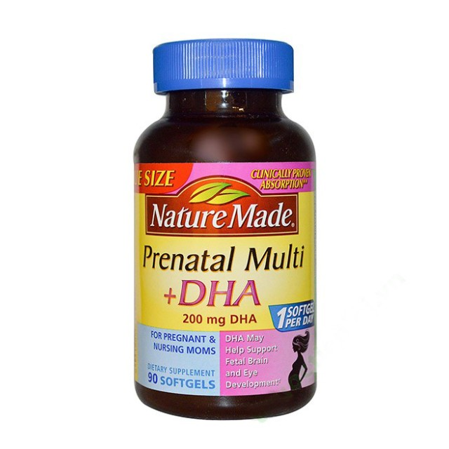 NATURE MADE PRENATAL MULTI DHA 90 VIÊN