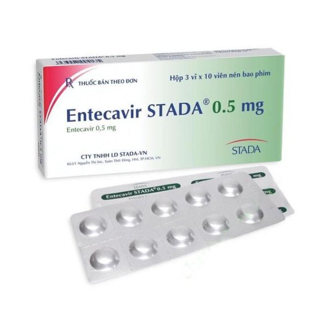 ENTECAVIR STADA 0.5MG