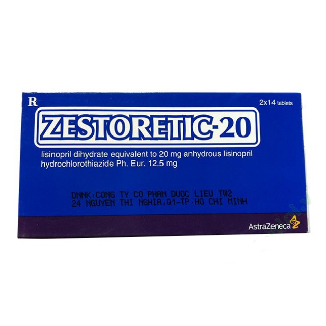 ZESTORETIC 20mg H/28 v