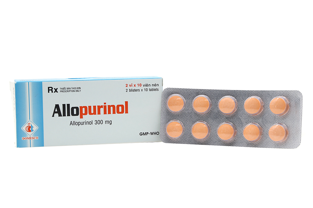 Allopurinol 300mg H/100v