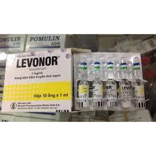 Lenovor H/10 ống 1 ml (Noradrenaline)