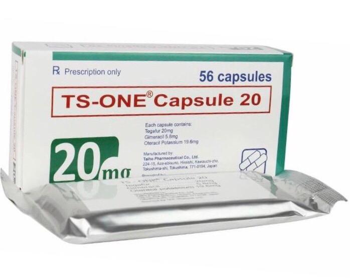 TS-One capsule 20 mg  H/56 viên
