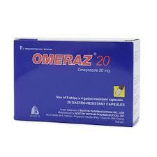 Omeraz 20mg ( Omeprazol)  H/20 viên Boston Việt Nam