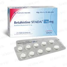 Betahistine STADA 16mg H/100 viên