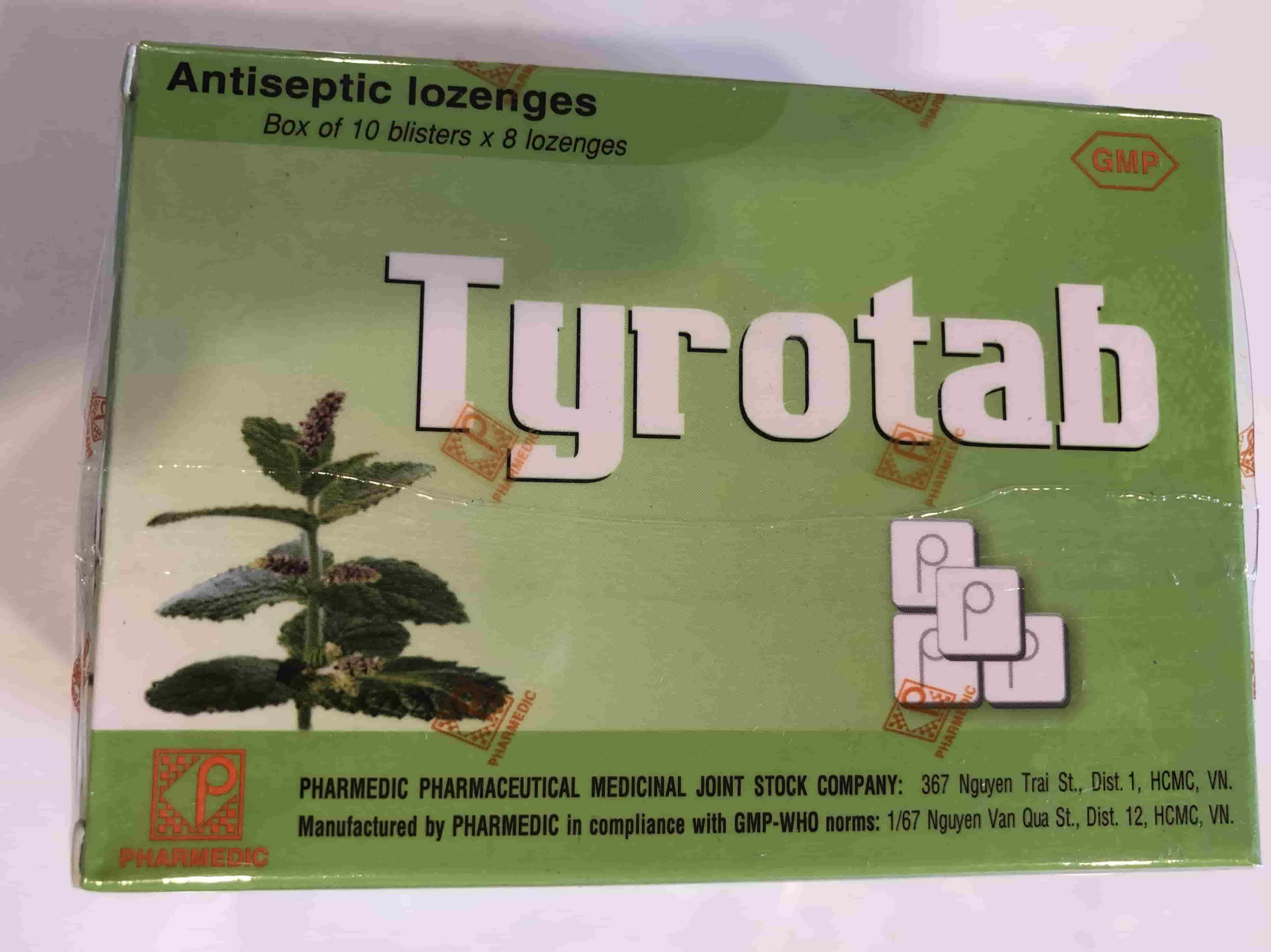 TYROTAB VỈ