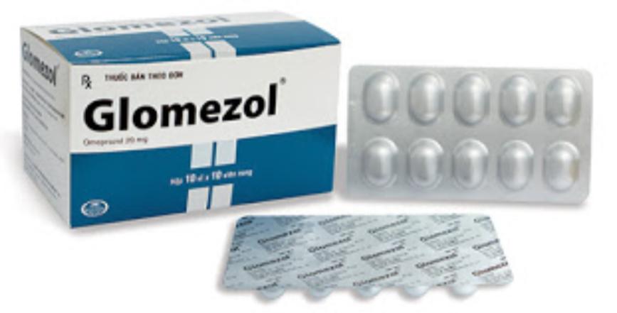 GLOMEZOL 20 mg H/100 v