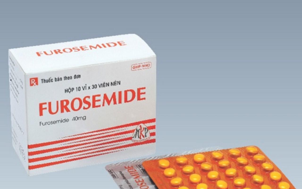 FUROSEMIDE 40 mg H/300 v vàng