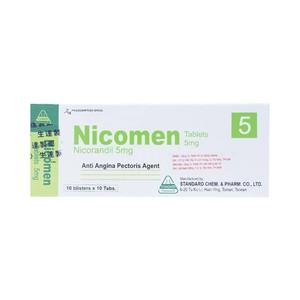 Nicomen 5mg H/100 viên