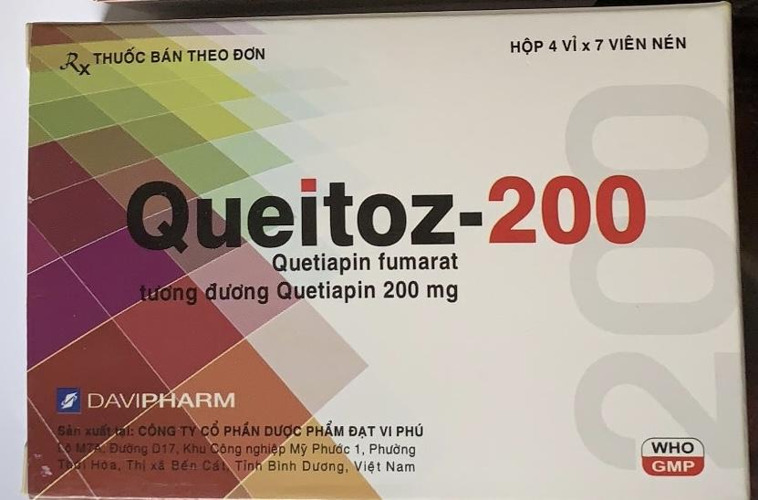 Queitoz-200 mg H/28 viên