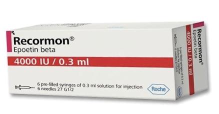 Recormon 4000IU Inj H/6 bơm tiêm ( trị thiếu máu )