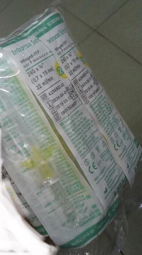Kim luồn 24 braun Bịch/10 cái