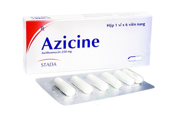 AZICINE 250MG - THUỐC KHÁNG SINH