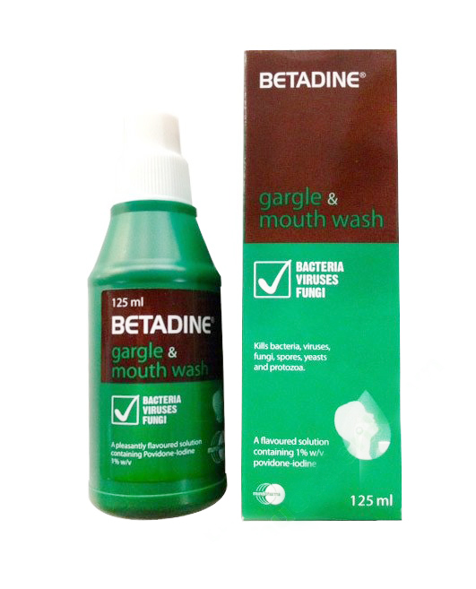 BETADINE 1% 125 ML