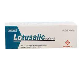 Lotusalic Ointment 15g (Thuốc mỡ trị vảy nến)