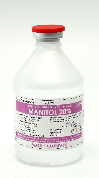 Mannitol 250Ml Kabi Bidiphar