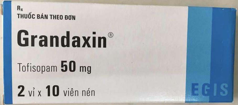 Grandaxin 50 mg H/20 viên