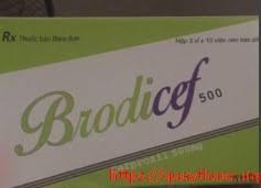 Brodicef 500 mg H/30 viên