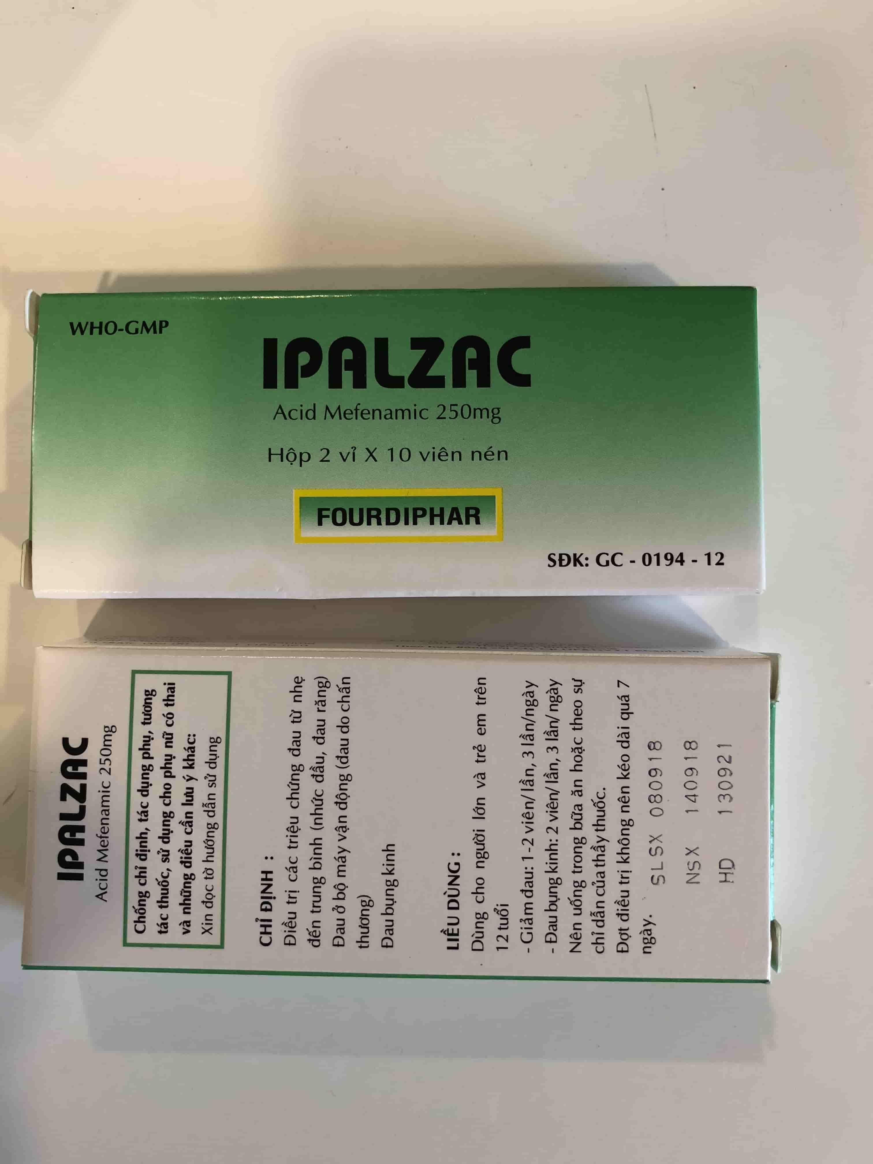 IPALZAC Q4 250mg