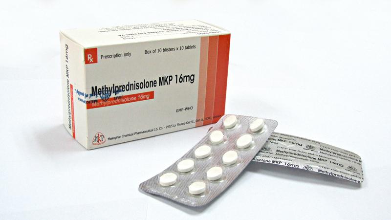 Methylprednisolone MKP 16mg H/100 v