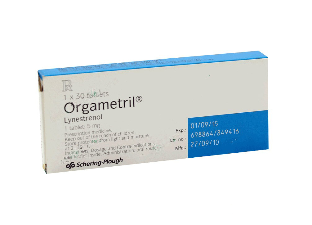ORGAMETRIL 5MG