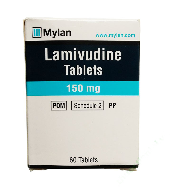 LAMIVUDINE MYLAN 150MG